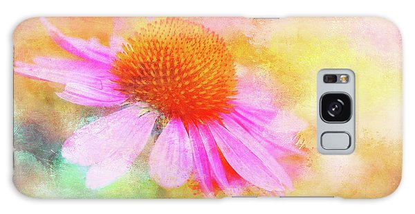 Dancing Coneflower Abstract Galaxy Case