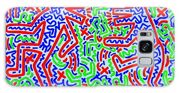 Dancing Dogs After Keith Haring 1958-90 Galaxy Case