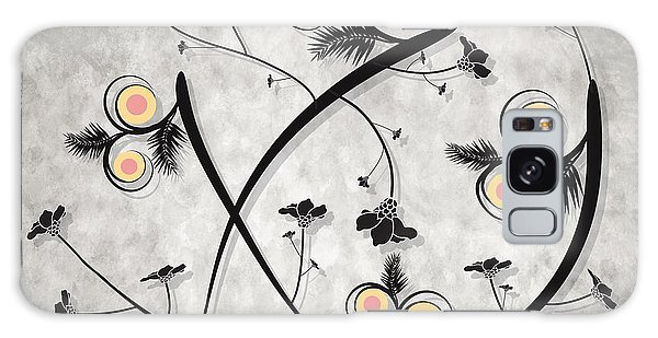 Dancing Flowers Galaxy Case by Milena Ilieva