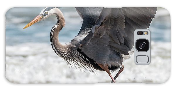 Dancing Heron #2/3 Galaxy Case by Patti Deters
