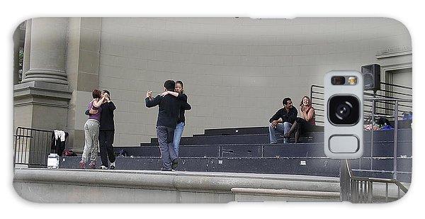Dancing In Golden Gate Park Galaxy Case