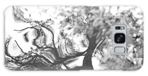 Dancing Leaves Galaxy Case by Linda Geiger