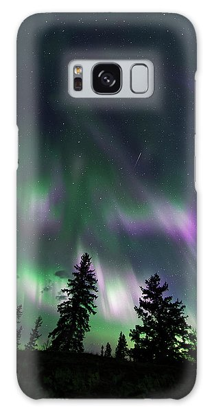 Dancing Lights Galaxy Case