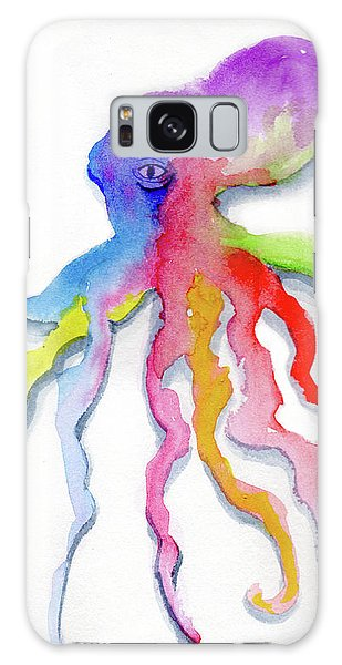 Dancing Octopus Galaxy Case