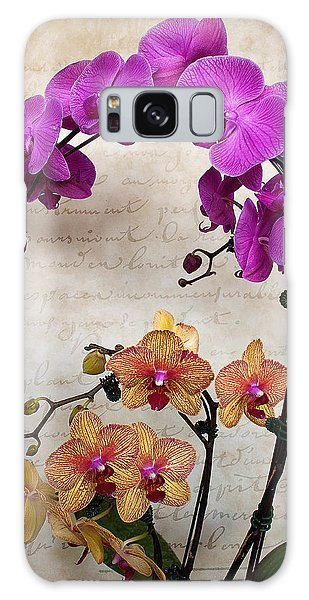 Dancing Orchids Galaxy Case