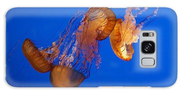 Dancing Sea Nettles Galaxy Case