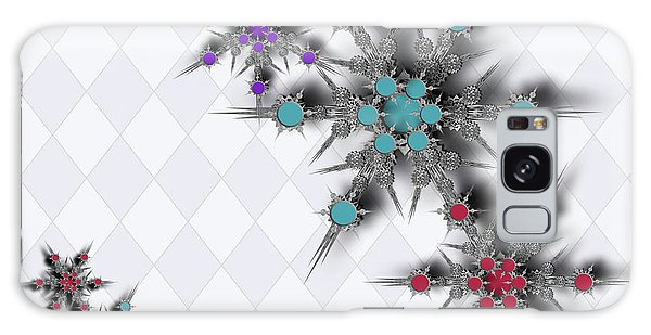 Dancing Snowflakes Galaxy Case