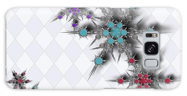 Dancing Snowflakes Galaxy Case
