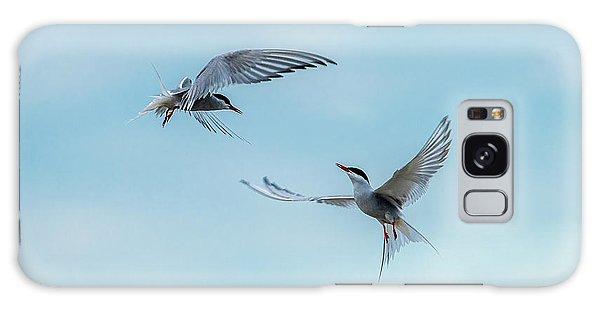 Dancing Terns Galaxy Case