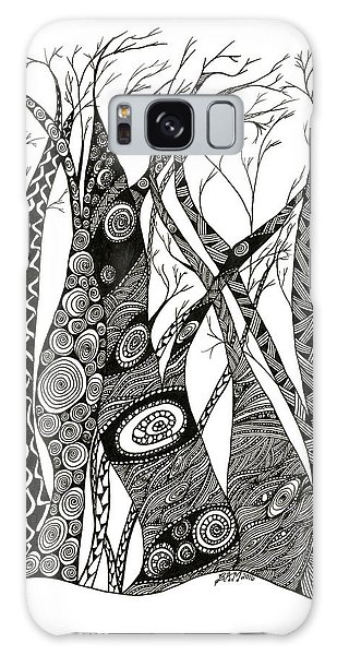 Dancing Trees Galaxy Case