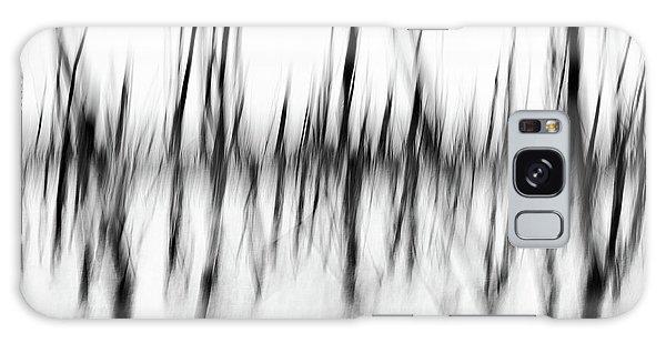 Dancing Trees Galaxy Case by Darren White