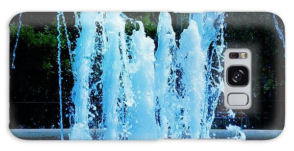 Dancing Waters Blue Galaxy Case