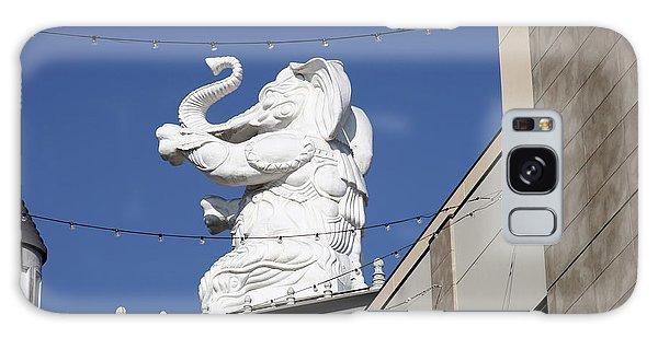Dancing White Elephant Galaxy Case