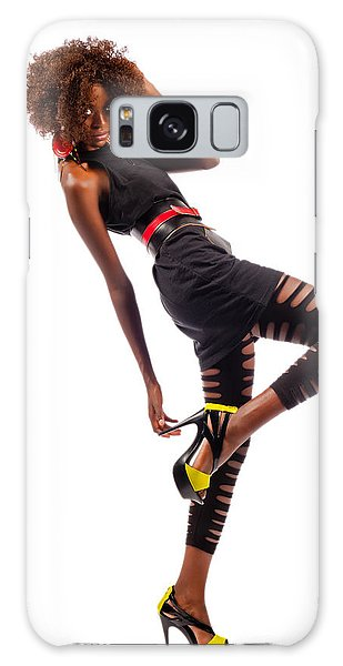 Dancing Woman Galaxy Case