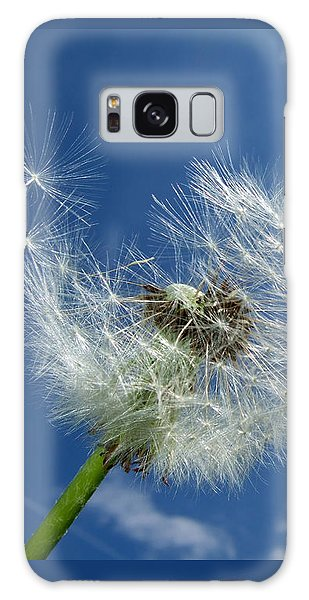 Dandelion And Blue Sky Galaxy Case