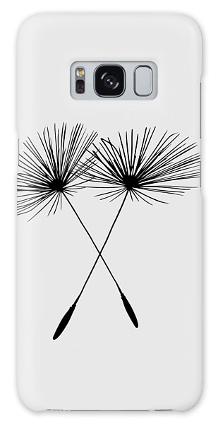 Dandelion Duo  Galaxy Case