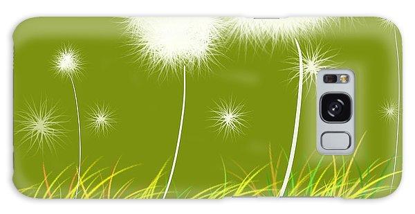 Dandelions Are Free Galaxy Case