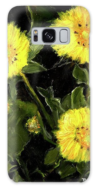 Dandelions By Mary Krupa  Galaxy Case by Bernadette Krupa