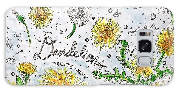 Dandelions Galaxy Case