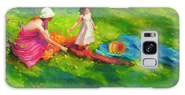 Country Living Galaxy Case - Dandelions by Steve Henderson