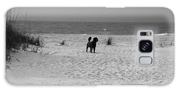Dandy On The Beach Galaxy Case