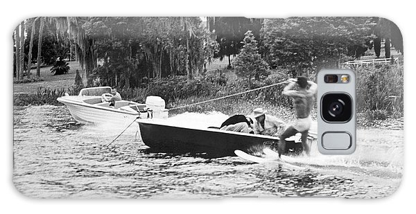 Powerboat Galaxy Case - Dangerous Water Skiing by Underwood Archives