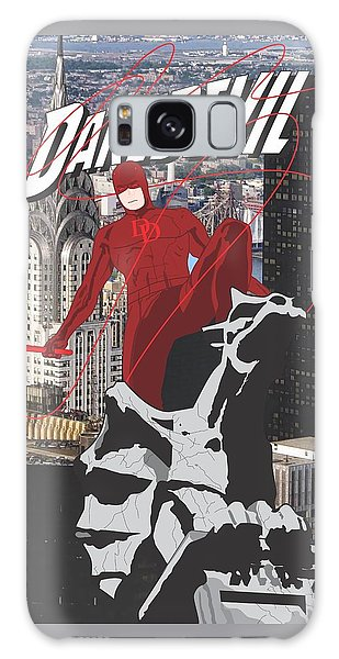 Ben Affleck Galaxy S8 Case - Daredevil by Troy Arthur Graphics