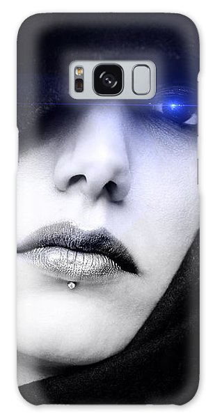 Galaxy Case featuring the digital art Dark Angel by ISAW Company