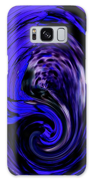Dark Blue Egg Galaxy Case