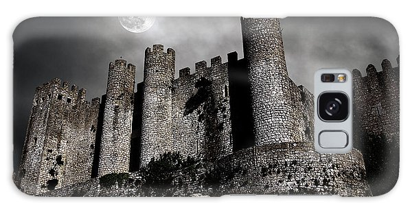 Moon Galaxy Case - Dark Castle by Carlos Caetano