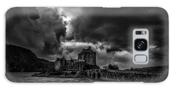 Galaxy Case featuring the photograph Dark Clouds Bw #h2 by Leif Sohlman