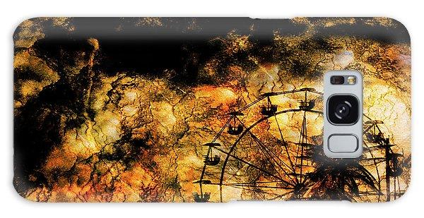 Dark Ferris Wheel Galaxy Case by Don Gradner
