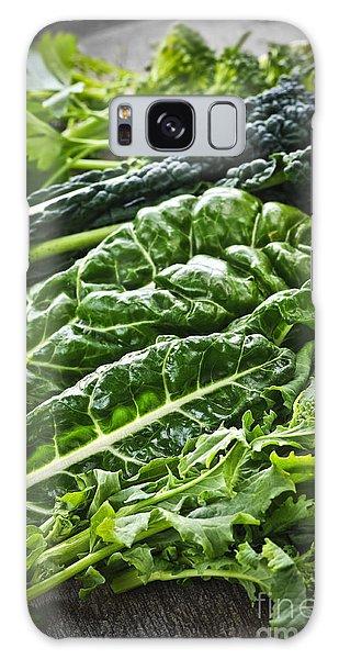 Dark Green Leafy Vegetables Galaxy Case