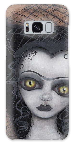 Dark Lily Galaxy Case by Abril Andrade Griffith