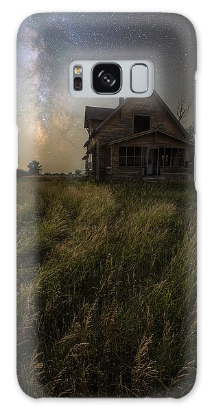 Galaxy Case featuring the photograph Dark Manor by Aaron J Groen