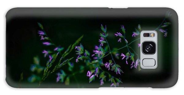 Galaxy Case featuring the photograph Dark Pink by Michaela Preston