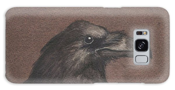 Dark Raven Galaxy Case