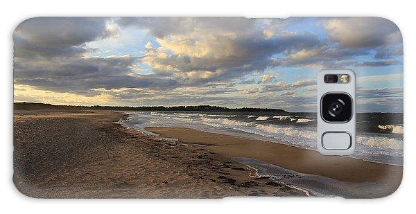 Dark Skies And Sea - Nova Scotia Seascape Galaxy Case