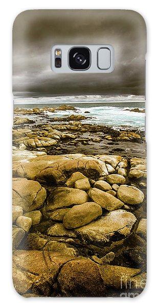 Tides Galaxy Case - Dark Skies On Ocean Shores by Jorgo Photography - Wall Art Gallery