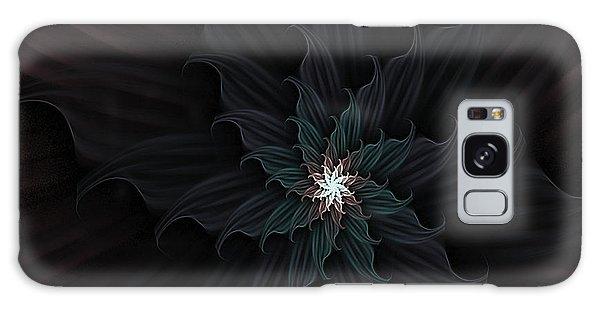 Dark Star Flower Galaxy Case