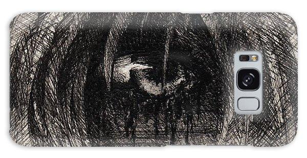 Galaxy Case - Dark Tears by Rachel Christine Nowicki