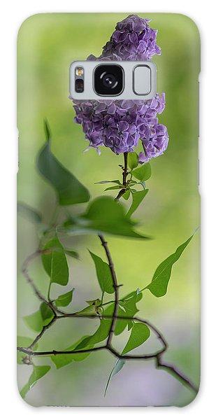 Dark Violet Lilac Galaxy Case