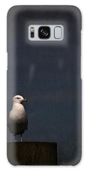 Seagulls Galaxy Case - Darkness Falls by Evelina Kremsdorf