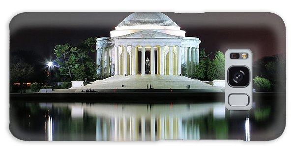 Darkness Over The Jefferson Memorial Galaxy Case