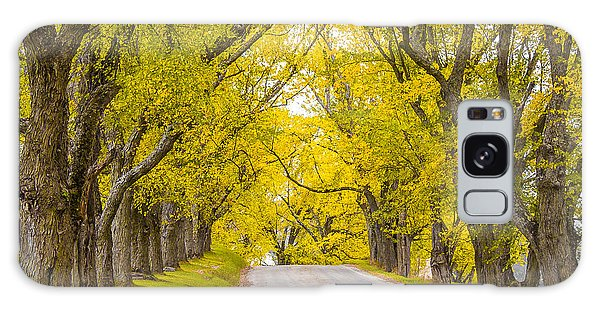 Darling Hill Autumn Galaxy Case by Tim Kirchoff