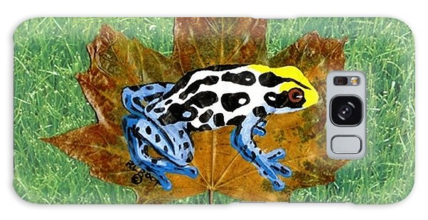 Dart Poison Frog Galaxy Case by Ralph Root