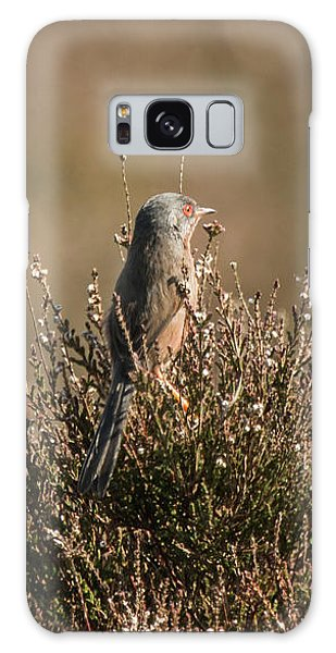 Dartford Warbler Galaxy Case