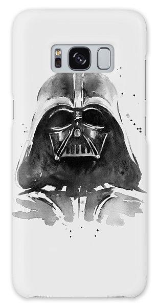 Darth Vader Watercolor Galaxy Case by Olga Shvartsur