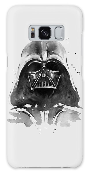 Portraits Galaxy S8 Case - Darth Vader Watercolor by Olga Shvartsur