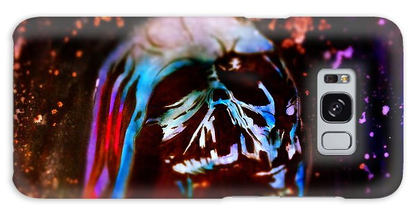 Darth Vader's Melted Helmet Galaxy Case by Justin Moore